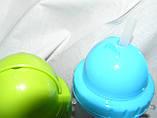 Бутылка для воды с силиконовой поилкой 500 мл.(салатовый), фото 7