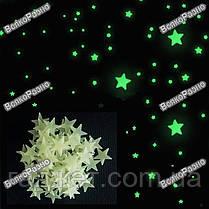 Светящиеся звезды на потолок и стены. Наклейки., фото 2