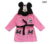 Халат Minnie Mouse для девочки. 3, 6 лет