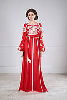 Стильна сукня вишиванка