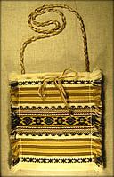 Ткана сумка жовта