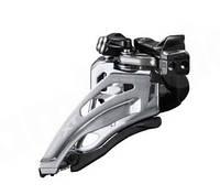 Переключатель передний Shimano Deore XT FD-M8000-L 3x11 Low Clamp Side-Swing передняя тяга 34,9 / 31,8мм