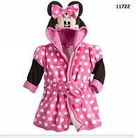 Халат Minnie Mouse для девочки. 90, 100, 110, 130 см