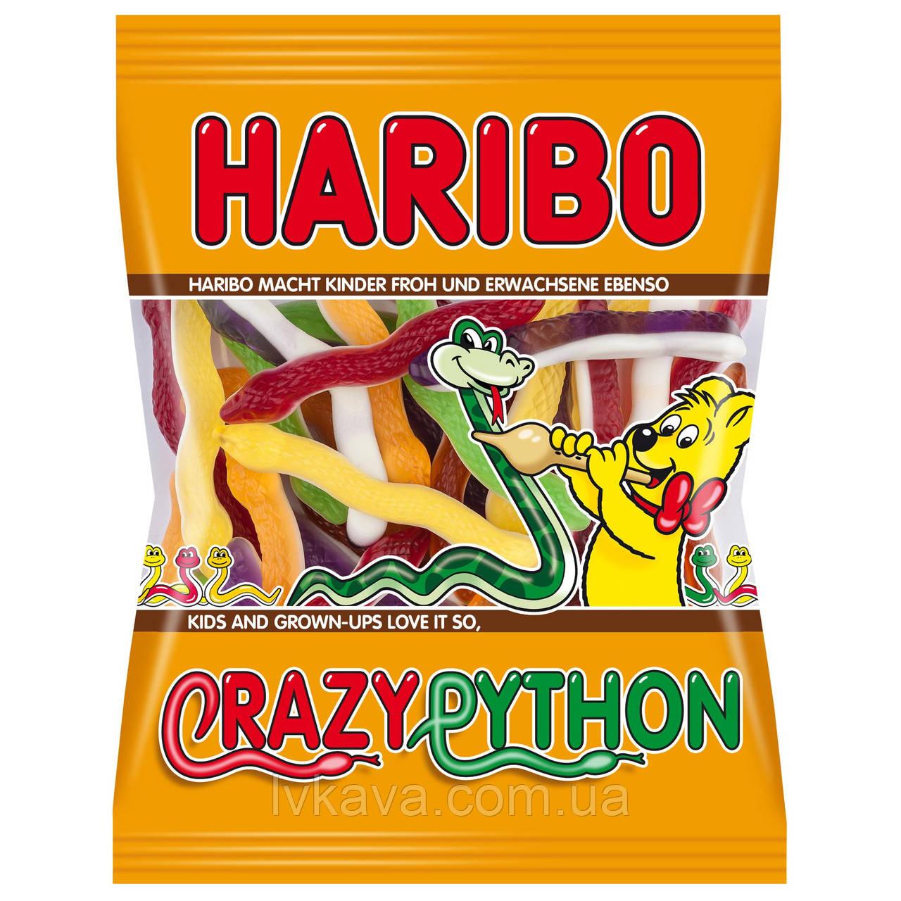 Желейные конфеты Haribo Crazy Python , 200 гр
