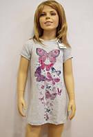Ночная сорочка для девочки TM Baykar р.7,8,9,10 лет (4 шт в ростовке)