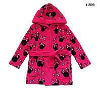 Халат Minnie Mouse для девочки. 92-98;  104-110 см