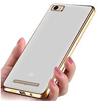 Чехол TPU для Xiaomi Mi 4i Gold