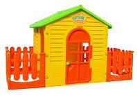 Детский игровой домик XXL 205см с терассой