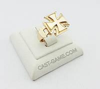 """""""Железный крест """" золотое кольцо"""