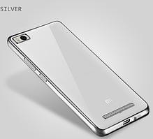 Чехол TPU для Xiaomi Mi 4i Silver