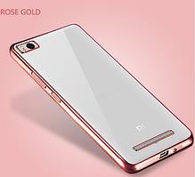 Чехол TPU для Xiaomi Mi 4i Rose Gold