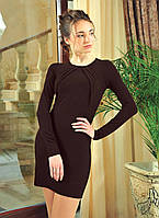 Строгое офисное платье р.42