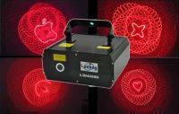Лазер LanLing L3D400RR 200mW Red 3D Laser Light