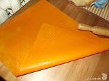 Силіконовий килимок для розкочування тіста і випічки з розміткою 65х45 див., фото 2
