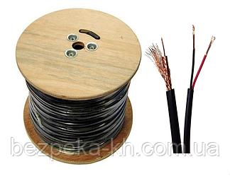 Комбинированный кабель ТДМ RG59 + 2 x 0.75 мм²