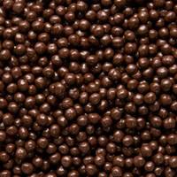 Хрустящие жемчужины в темном шоколаде Сallebaut