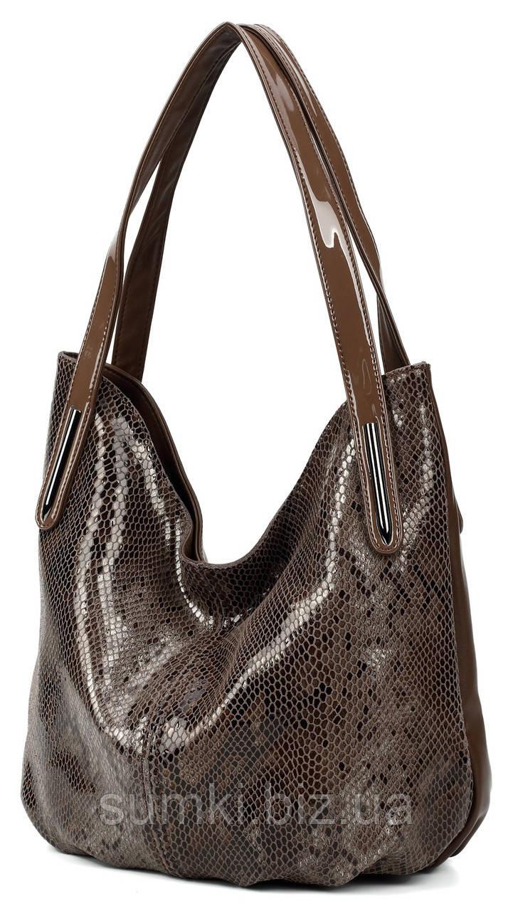 7ef9d2153496 Кожаные сумочки - имитация змеиной кожи - Интернет магазин сумок