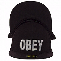 Бейсболка мужская черная Obey