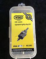 Коронка универсальная по металлу YDS, все размеры