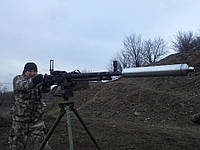 Саундмодератор - Глушитель на пулемет ДШК(М )