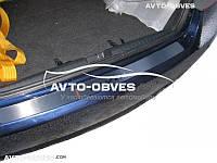 Накладка на задний бампер Honda Civic VIII 4D 2006 - 2012 без загиба