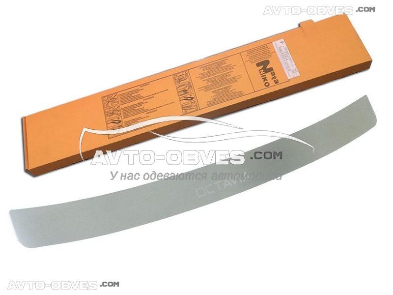 Накладка на задний бампер Шкода Октавия II combi FL 2010-2012 без загиба