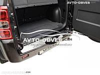 Накладка на задний бампер Suzuki Grand Vitara II 5D/3D 2005-2011 без загиба