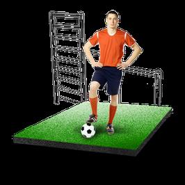 Резиновая плитка для спортивных и игровых площадок