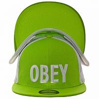 Бейсболка летняя салатовая Obey