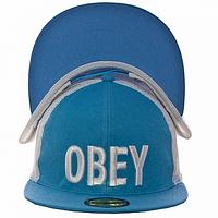 Кепка бейсболка бирюзовая Obey