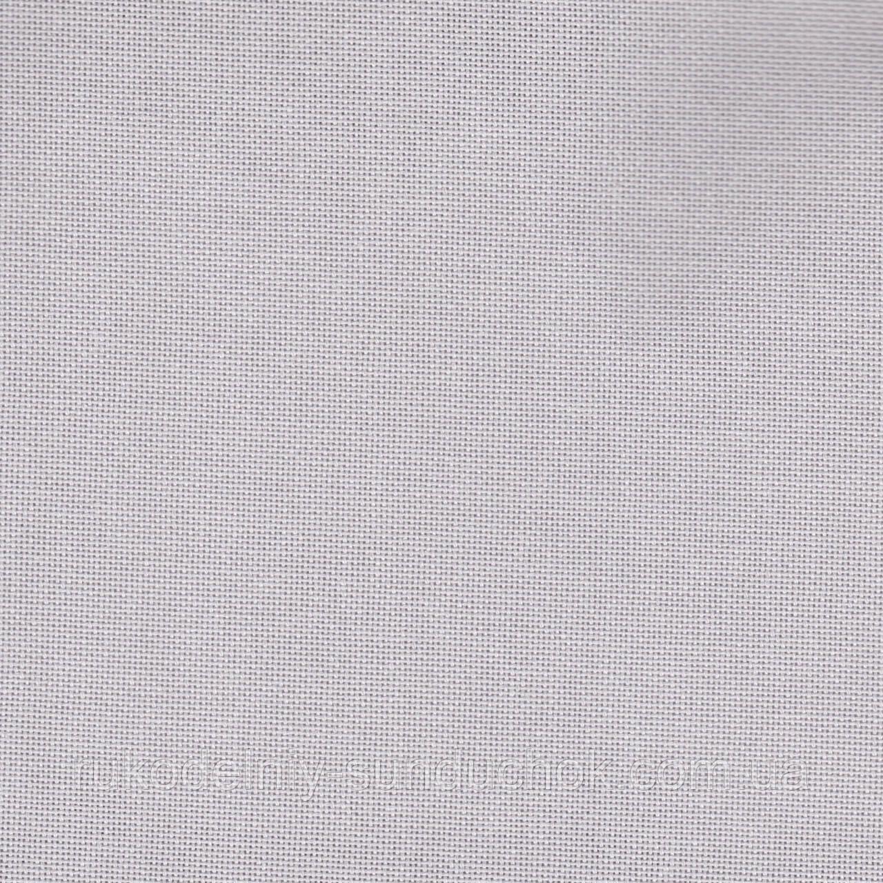 Ткань равномерного переплетения 27 ct. Linda Schulertuch Zweigart 1235/786 (пепельно-серый) Light Ash Grey