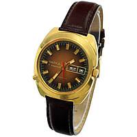 Советские позолоченные часы Чайка с календарем