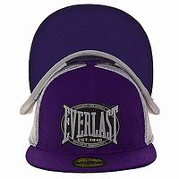 Бейсболка стильная фиолетовая Everlast
