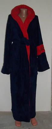 Махровые халаты длинные, мужские, фото 2