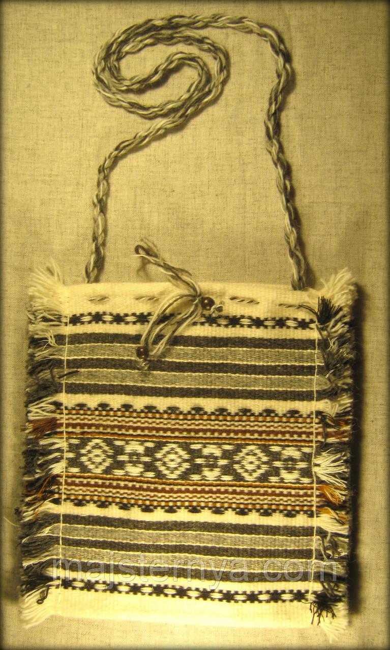 Ткана сумка сіра