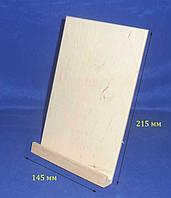 Подставка под планшет 21.5х14.5х3/14 см фанера заготовка для декора