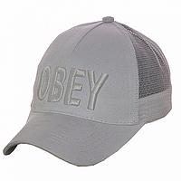 Бейсболка спортивная белая Obey