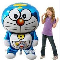 Кот - робот. Большой фигурный  шарик из фольги  105см