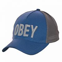 Бейсболка стильная голубая Obey