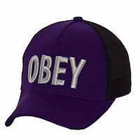 Бейсболка летняя синяя Obey