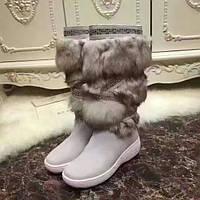 Новинка 2017! Женские  меховые сапоги UGG бренд количество ограниченно , фото 1