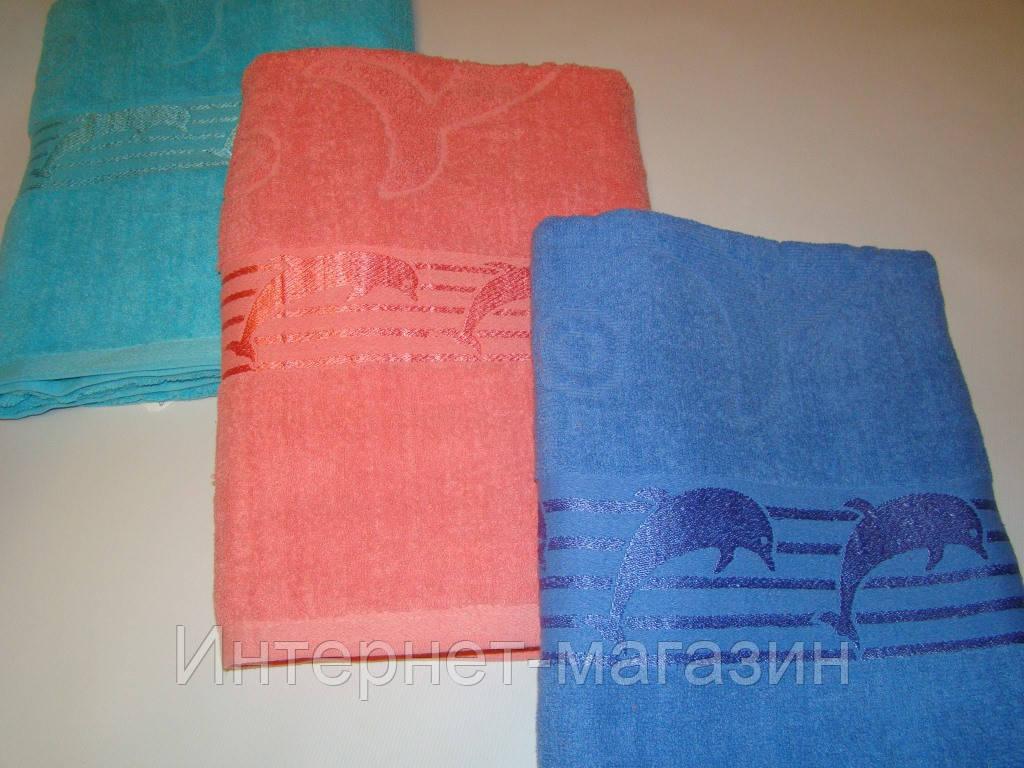 Полотенце для сауны махровое (90х178 см) код 0048, фото 1