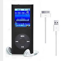MP3 плеер 4GB память металл 2дюйма экран(копия под Ipod 5gen nano,новый) ЧЕРНЫЙ SKU0000234, фото 1