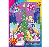 Пазл G-Toys 70 My little Pony (598) (Ч)