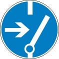Знаки безопасности выключить перед работой