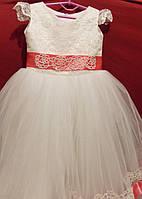 Платье нарядное для девочки 5-7 лет