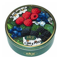 Fine Drops Лесные ягоды леденцы в ж/б, 200 г