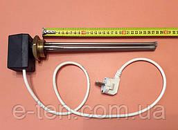 """Тен для чавунної батареї 500 W (нержавейка) на різьбі 1 1/4"""" (42мм) з ЦИФРОВИМ терморегулятором DALAS 3кВт"""