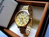 Стильные кварцевые часы Rolex. Женские часы. Отличное качество. Удобные часы. Красивый дизайн. Код: КДН1293