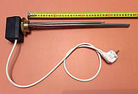 """Тэн для чугунной батареи 1500 W (нержавейка) на резьбе 1 1/4"""" (42мм) с ЦИФРОВЫМ терморегулятором DALAS 3кВт"""